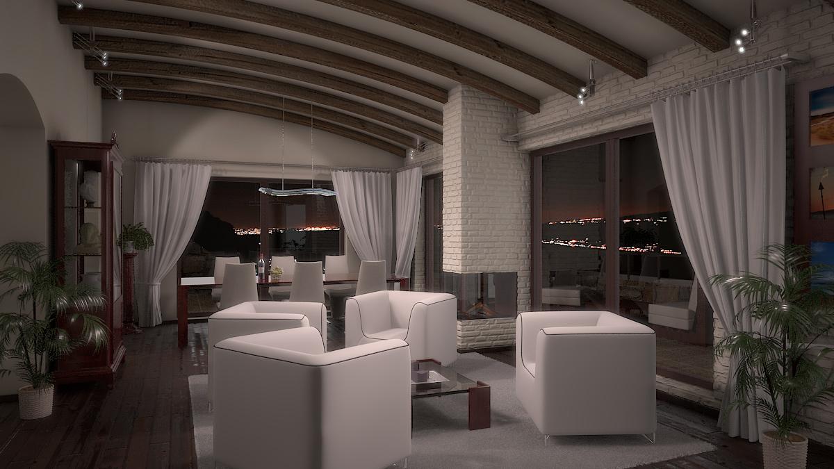 Bilder aus dem Beitrag: 3D architectural visualization ''Torri del Benaco'' (Interiors)