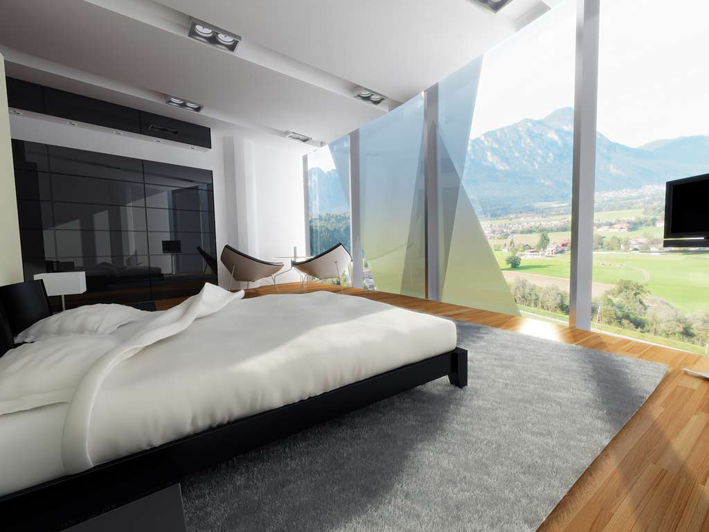 Bilder aus dem Beitrag: 3D architectural visualization ''Tyrol Tower'' (interiors)