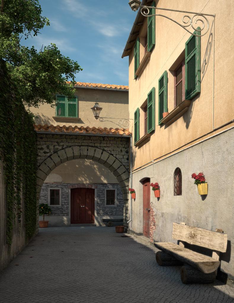 Bilder aus dem Beitrag: 3D-Arts ''Tuscany''